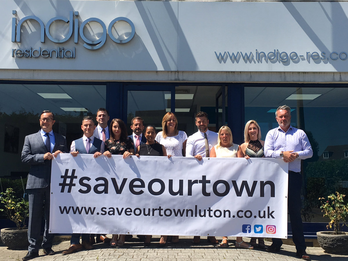 Indigo Residential supporting #saveourtown