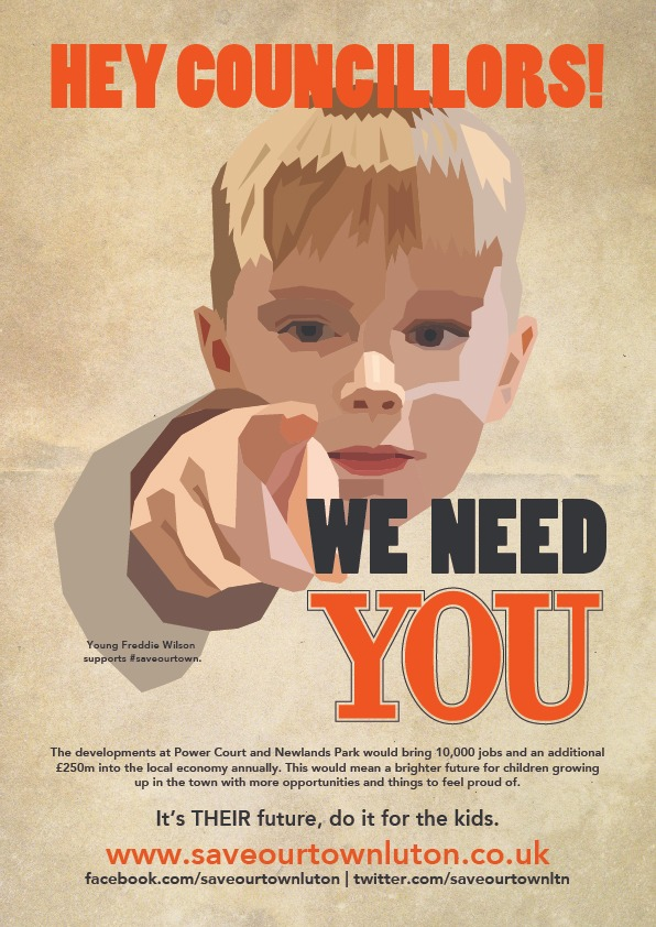 Hey Councillors, we need you to do it for the kids poster