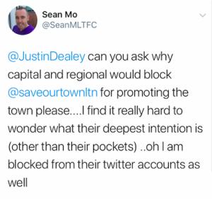 SeanMLTFC's tweet about Capital & Regional