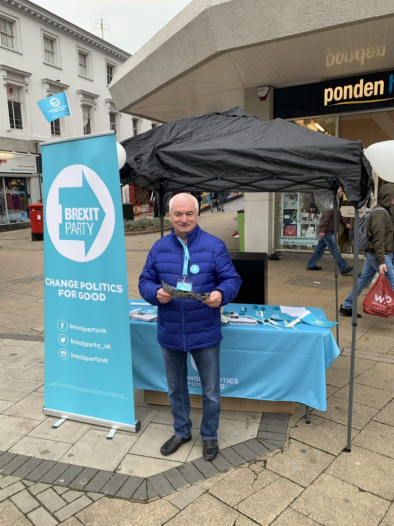 Garry Warren, the Brexit Party candidate for Luton South