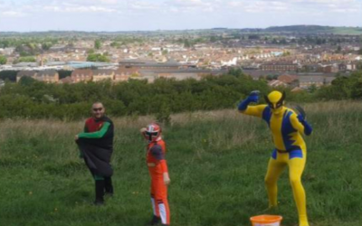 Luton heroes – Superheroes raising money for the L&D Hospital