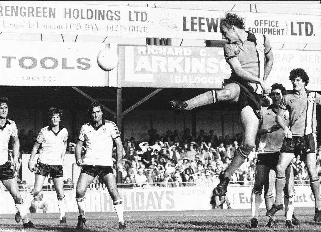 John Faulkner scoring against Fulham